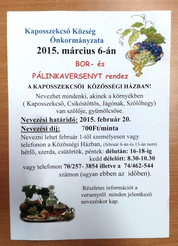 Borverseny 2015