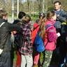 Tavaszi túrán a kaposszekcsői iskolások