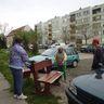 Liget lakótelepi takarítás, parkosítás