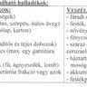 lomtalanitás táblázat