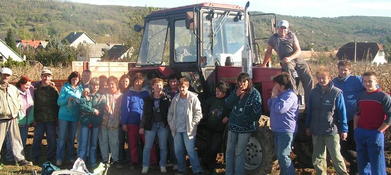 A programban részt vevő dolgozóink
