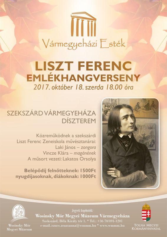 Liszt Ferenc emlékhangverseny