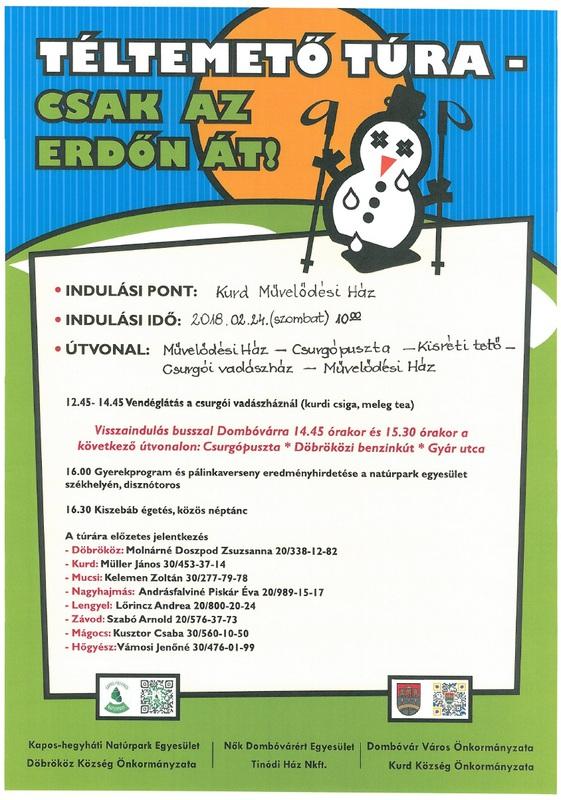 Téltemető túra plakát