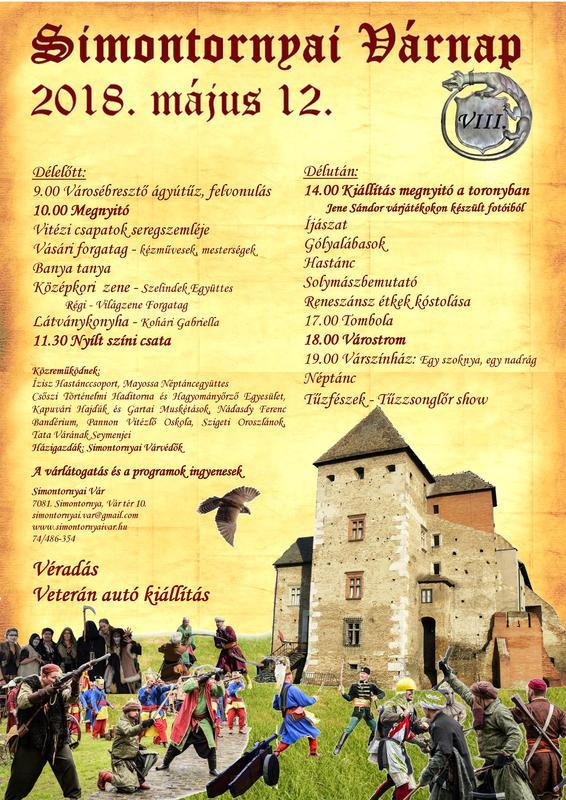 Simontornyai várnap plakát