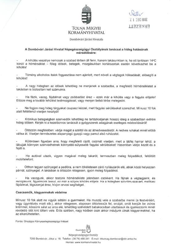 Dombóvári Járási Hivatal tanácsai