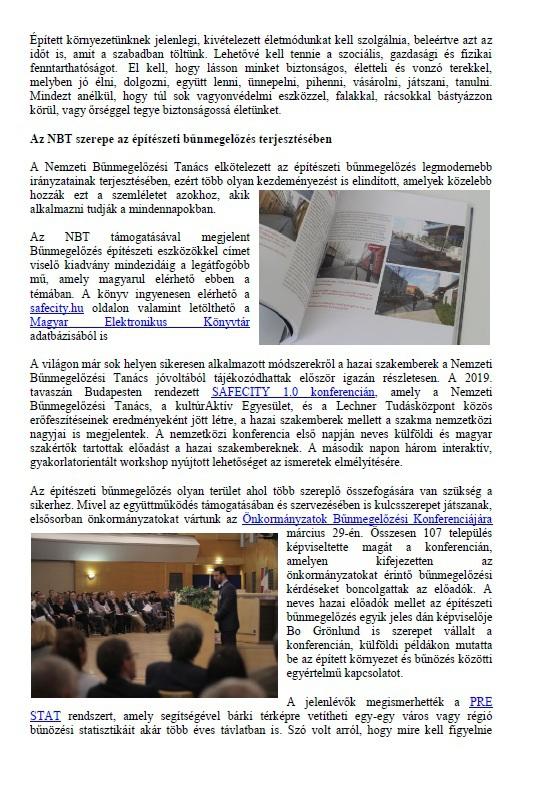 ELBIR hírlevél - bűnmegelőzés építészeti eszközökkel2
