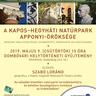 Meghívó natúrparki előadásra