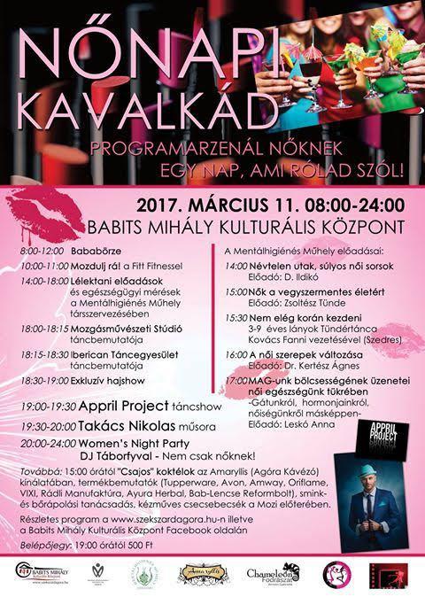 Nőnapi program Szekszárdon 2017