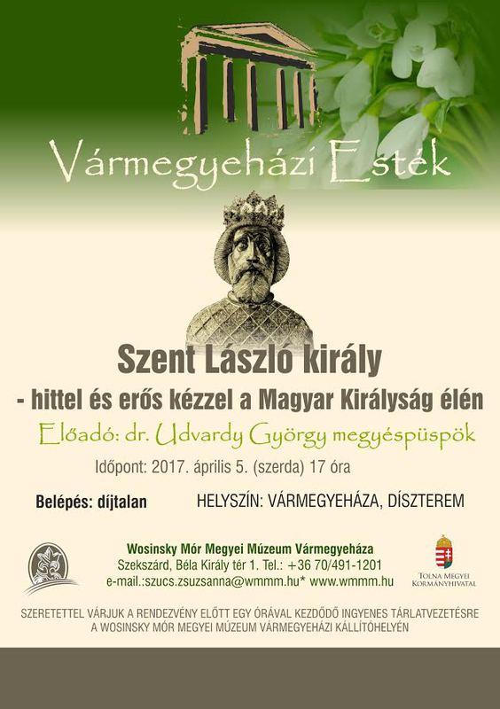 dr Udvardy György megyéspüspök előadása Szekszárdon