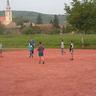 23. A sport kedvelői a salakos pályán szurkolhattak a focicsapatoknak
