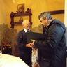 2015 február - Staudt Ferencet köszöntötték 90. születésnapján
