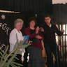56 - Az Őszirózsa Nyugdíjasklubot Egri Pálné, Manci néni képviselte