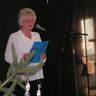 57 - Az Őszirózsa Nyugdíjasklubot Egri Pálné, Manci néni képviselte