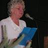 58 - Az Őszirózsa Nyugdíjasklubot Egri Pálné, Manci néni képviselte