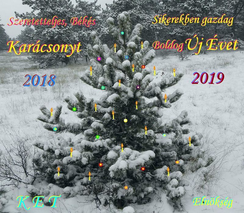 Karácsony 2018 KET Elnökség