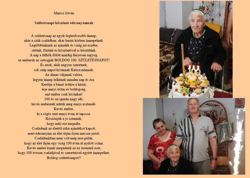 Születésnapi köszöntő édesanyámnak-Marosi István