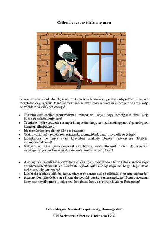 elbir hírlevél 06.18 otthoni vagyonvédelem nyáon