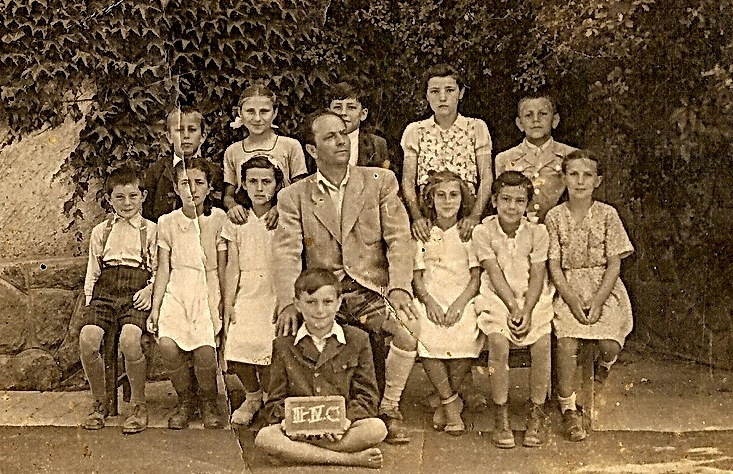Tódor János diákjai körében