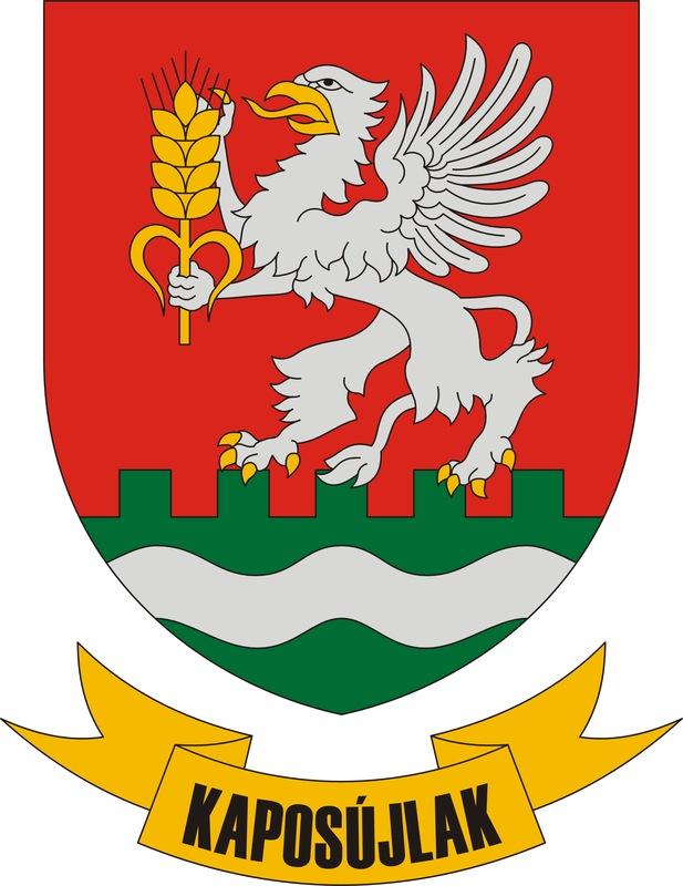 Kaposújlak Község Címere
