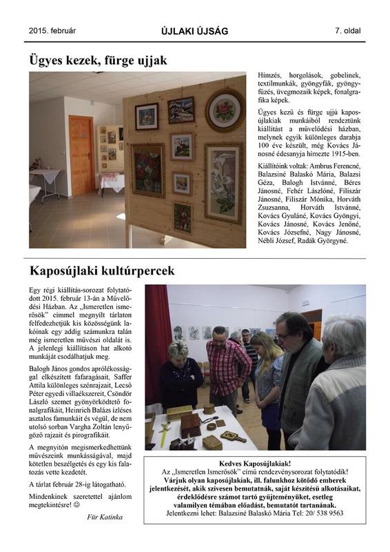 Újlaki Újság 2015.02 -7