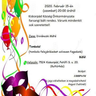 Farsang 2020