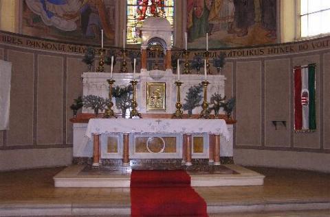 Szentségház, főoltár