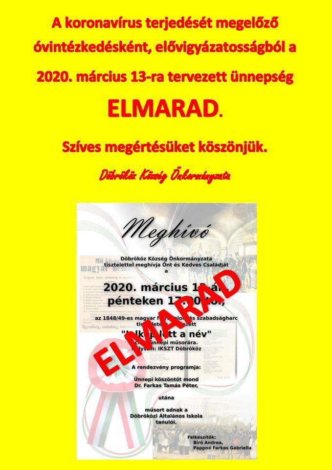 ELMARAD Márc. 15.