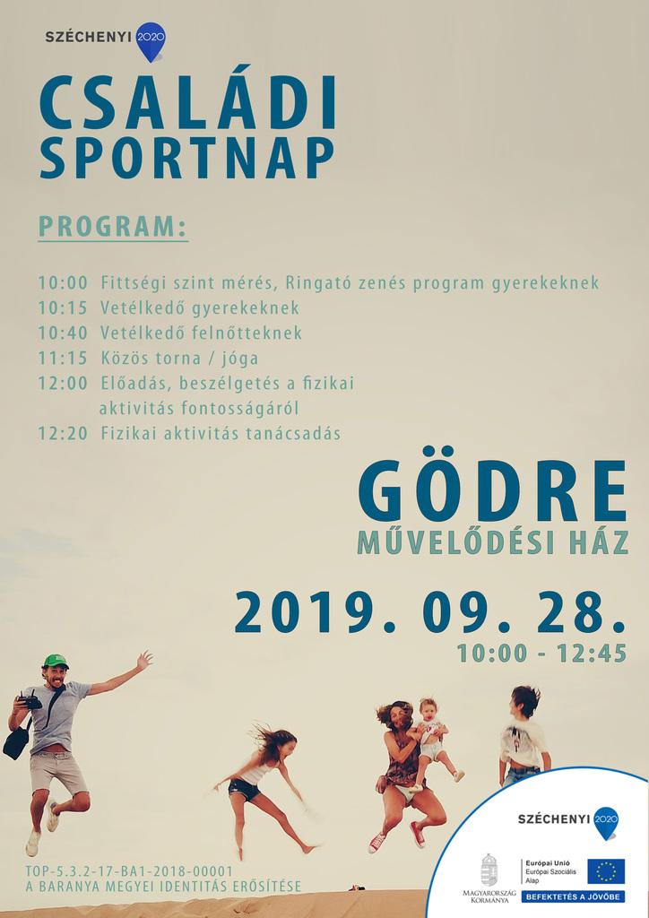 Sportnap Gödre