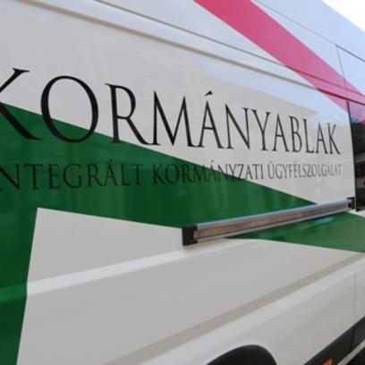 Kormányablak Busz ismét Gödre településre érkezik
