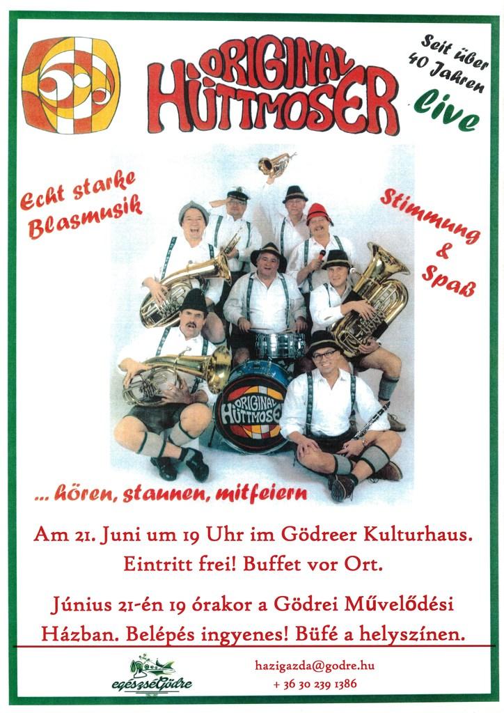 Original Hüttmoser plakát