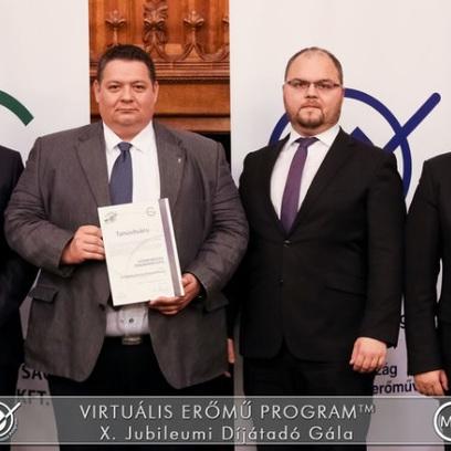 Energiahatékony Önkormányzat átadó