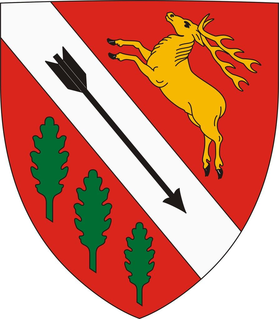 Rinyabesenyő címere