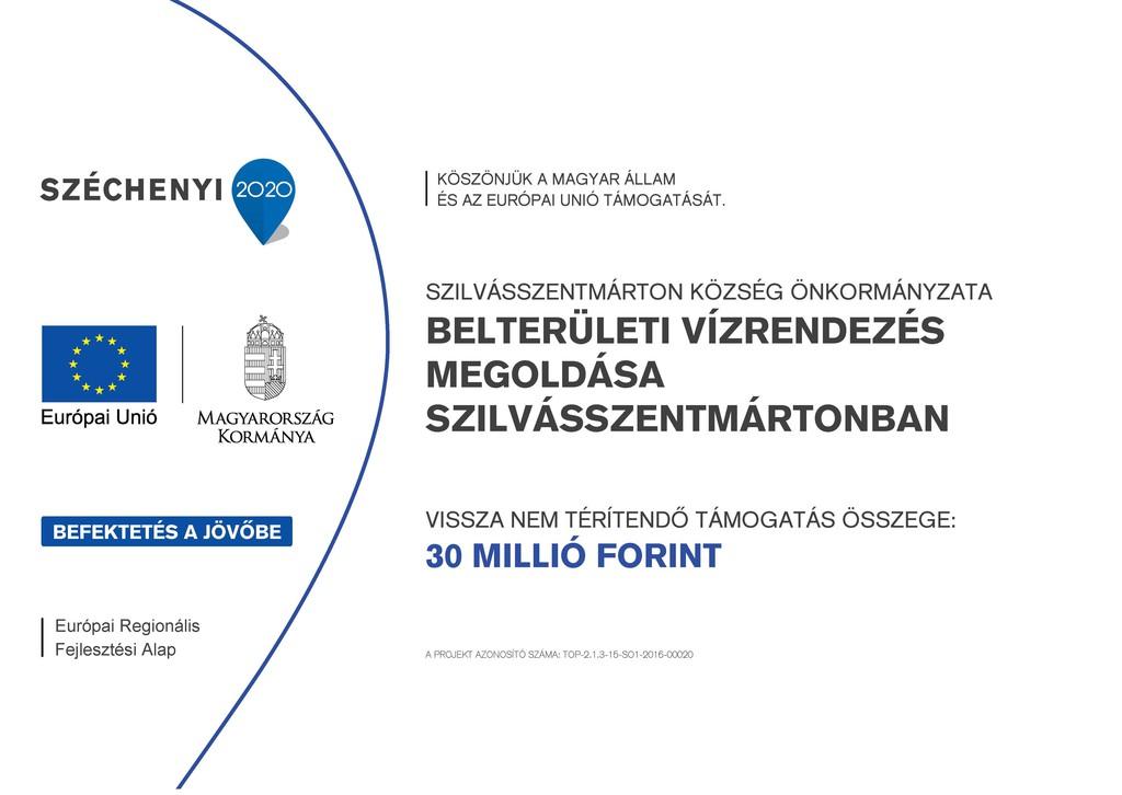Belterületi vízrendezés megoldása Szilvásszentmártonban