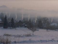 ködös zselici táj