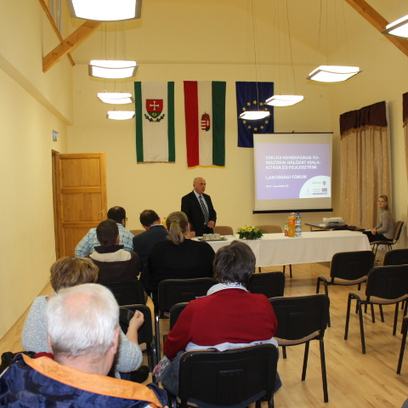 Lakossági fórum és közmeghallgatás